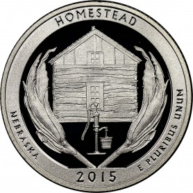 2015-S Silver Homestead National Monument Quarter Proof
