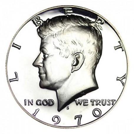 1970-S Kennedy Half Dollar - 40% Silver