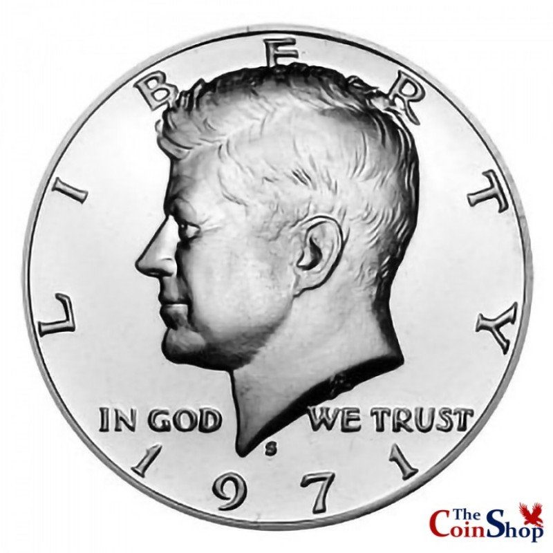 1971-S Kennedy Half Dollar Proof