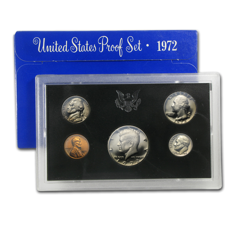 1972-S U.S Mint Proof Set