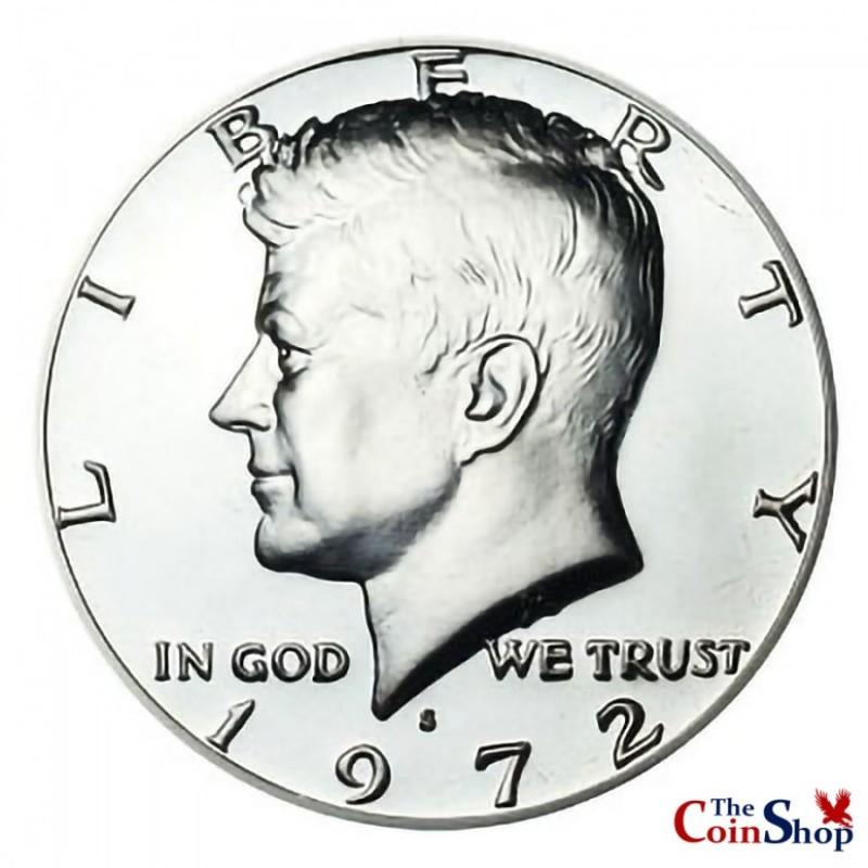 1972-S Kennedy Half Dollar Proof