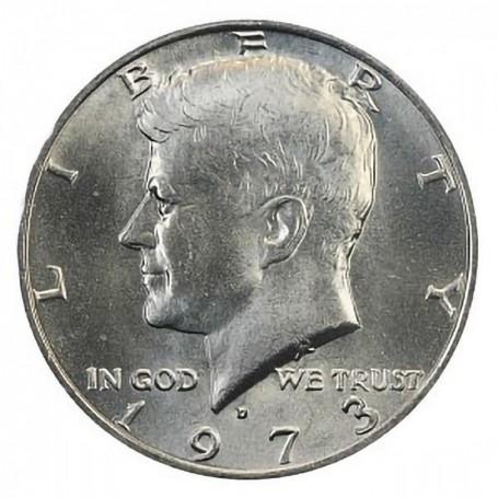1973-D Kennedy Half Dollar