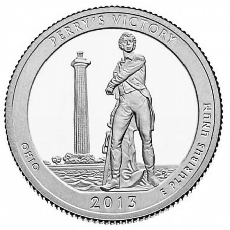 2013-S Proof Perry's Victory and International Peace Memorial Quarter