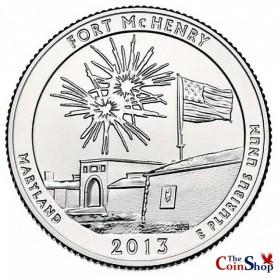 2013-D Fort McHenry National Monument Quarter