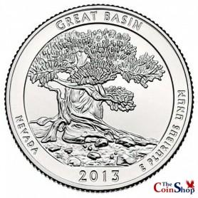 2013-D Great Basin National Park Quarter