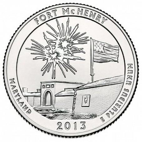 2013-P Fort McHenry National Monument Quarter