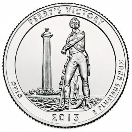 2013-P Perrys Victory and Int. Peace Memorial Quarter