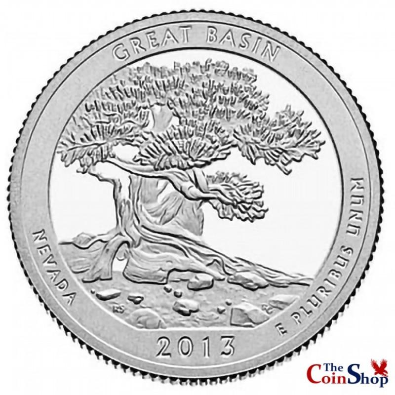 2013-S Silver Proof Great Basin National Park Quarter