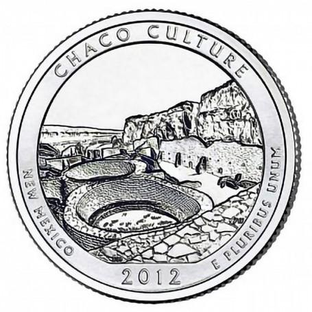 2012-D Chaco Culture National Historical Park Quarter