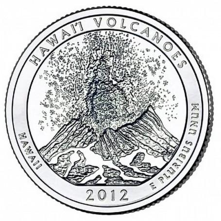 2012-P Hawaii Volcanoes National Park Quarter