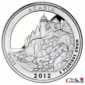 2012-S Proof Acadia National Park Quarter