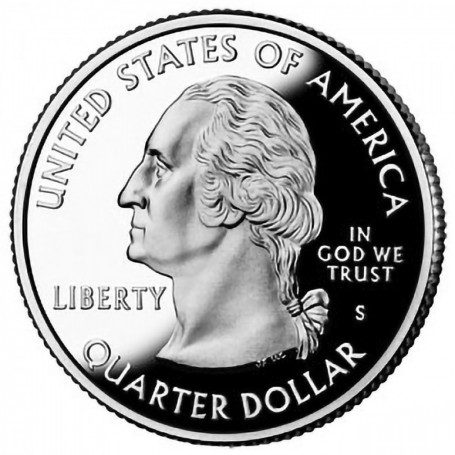 2012-S Proof Chaco Culture National Historical Park Quarter