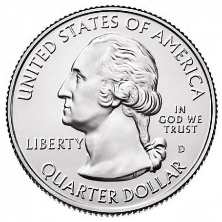 2016-D Fort Moultrie National Monument Quarter
