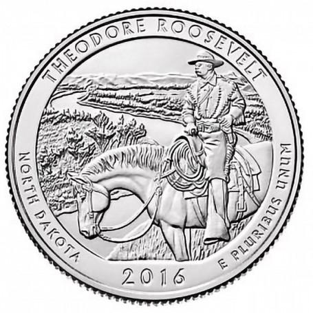 2016-D Theodore Roosevelt National Park Quarter