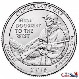 2016-P Cumberland Gap National Historical Park Quarter