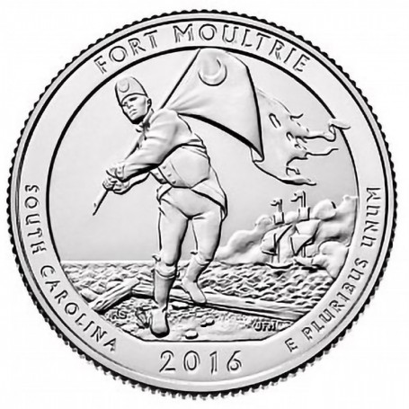 2016-P Fort Moultrie National Monument Quarter