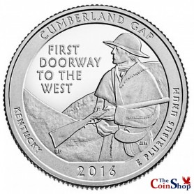 2016-S Cumberland Gap National Historical Park Quarter Proof