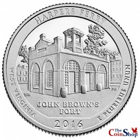 2016-S Harpers Ferry National Historical Park Quarter Proof