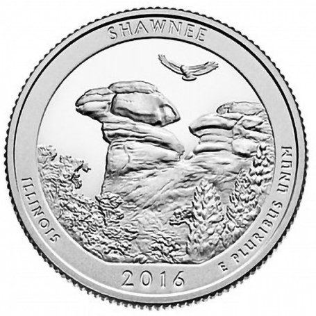 2016-S Shawnee National Forest Quarter Proof