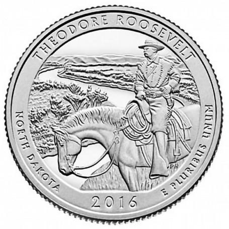 2016-S Theodore Roosevelt National Park Quarter Proof
