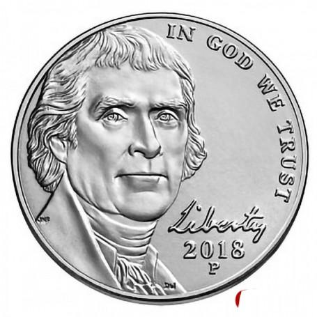 2018-P Jefferson Nickel