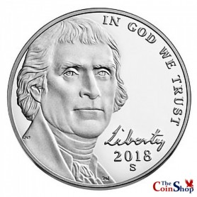 2018-S Proof Jefferson Nickel
