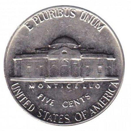 1969-S Jefferson Nickel Uncirculated