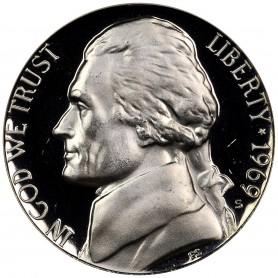 1969-S Jefferson Nickel Proof