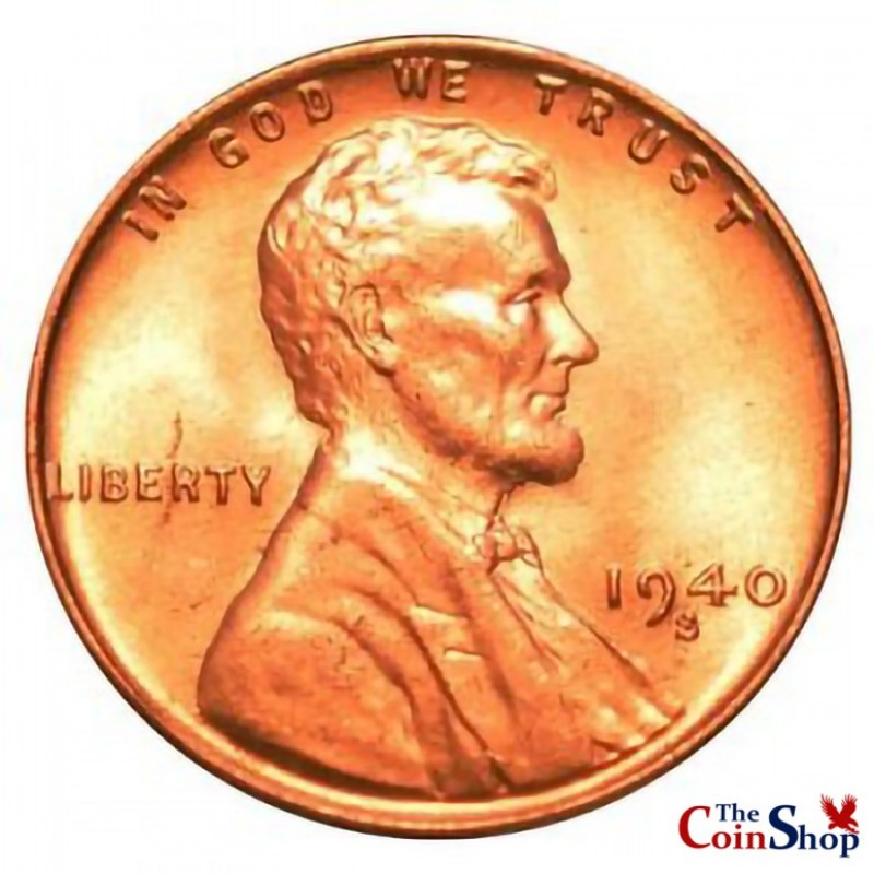 1940-S Lincoln Wheat Cent