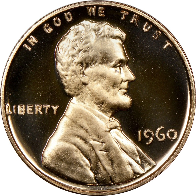 1960-P Large Date Lincoln Cent Proof