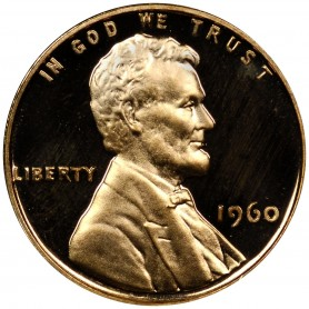 1960-P Small Date Lincoln Cent Proof