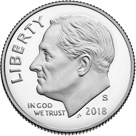 2018-S Silver Proof Roosevelt Dime