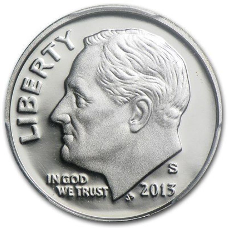 2013-S Silver Proof Roosevelt Dime