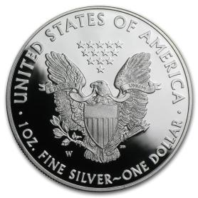 2018-W American Silver Eagle Proof 1 oz.