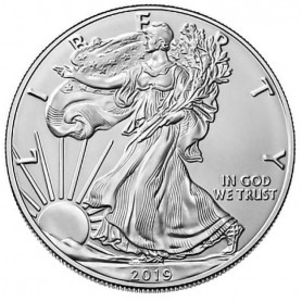 2019 American Silver Eagle BU