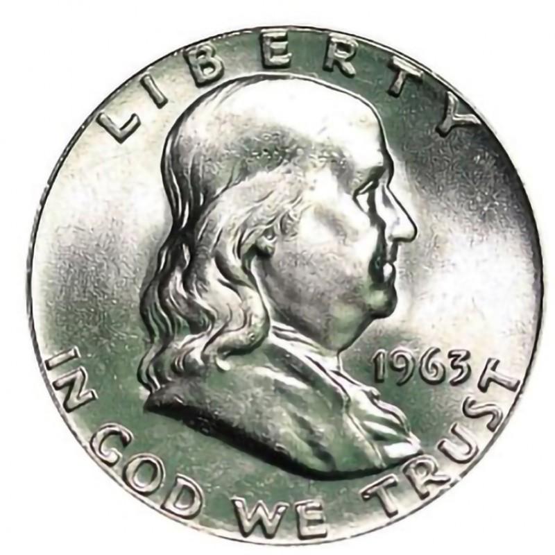 1963-P Franklin Half Dollar
