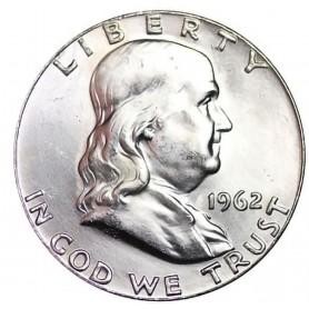 1962-P Franklin Half Dollar