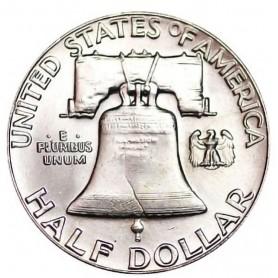 1961-P Franklin Half Dollar