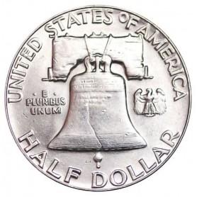 1954-P Franklin Half Dollar