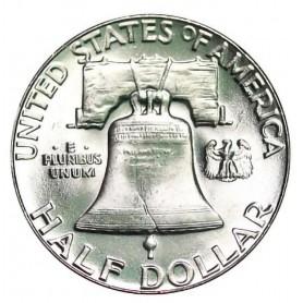 1955-P Franklin Half Dollar