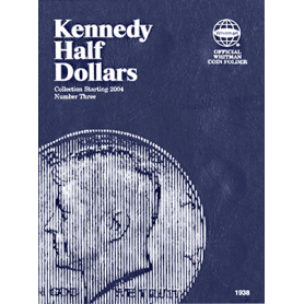 Kennedy Half Dollar Book No. 3, 2004-2015