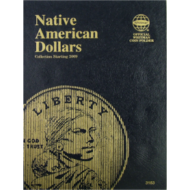 Native American Dollar Book, Starting 2009