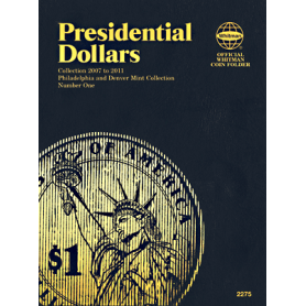 Presidential Dollar Book No. 1 P&D Mint Marks