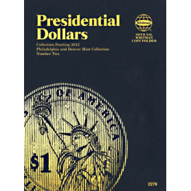 Presidential Dollar Book No. 2 P&D Mint Marks 2012- Date