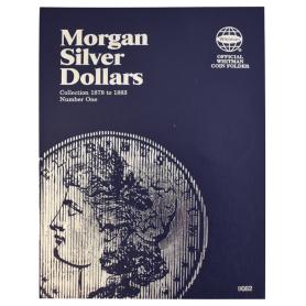 Morgan Silver Dollar Book No. 1 1878 - 1883