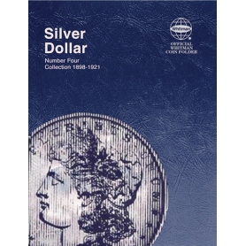 Morgan Silver Dollar Book No. 4 1898 - 1921