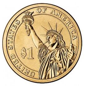 2007-D John Adams Presidential Dollar