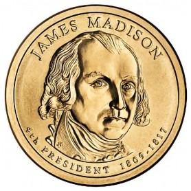 2007-P James Madison Presidential Dollar