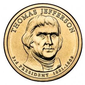 2007-P Thomas Jefferson Presidential Dollar