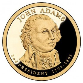 2007-S John Adams Presidential Dollar